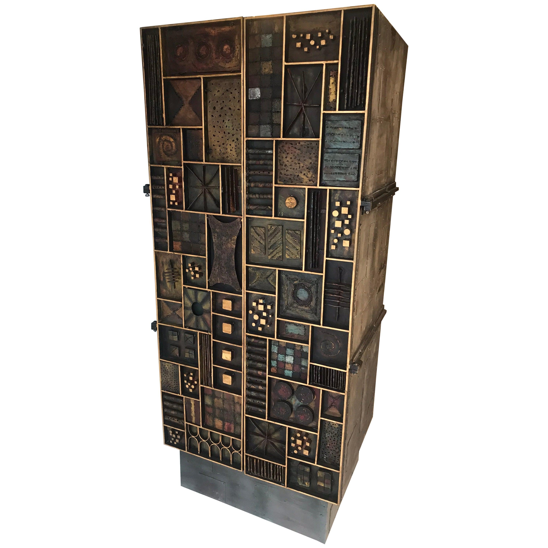 Paul Evans Style Cabinet/Dry Bar
