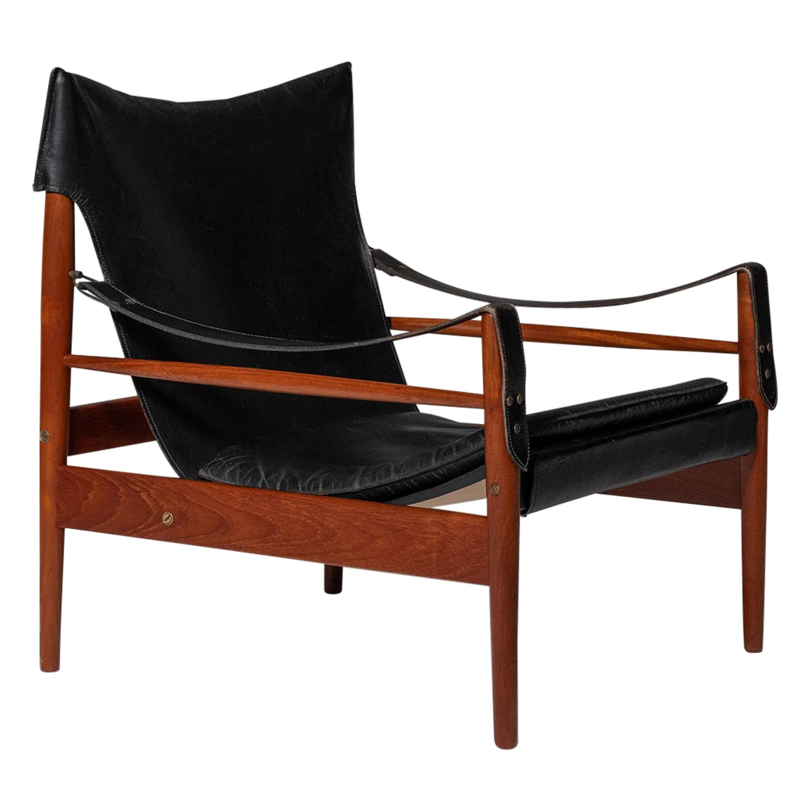 "Hans Olsen ""Antilope"" Safari Lounge Chair, 1960s"