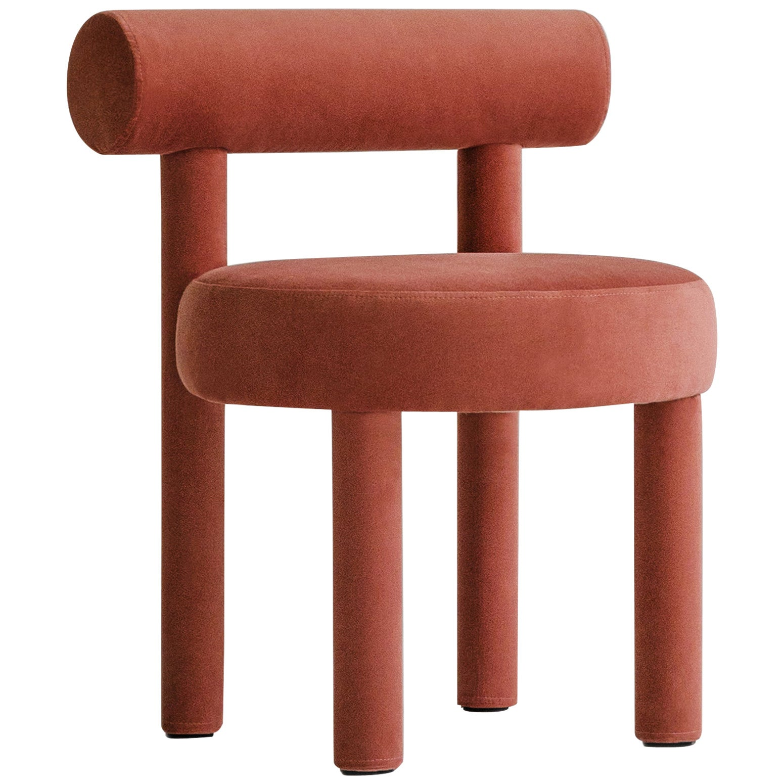 Modern Chair Gropius CS1 in Velvet Fabric by Noom