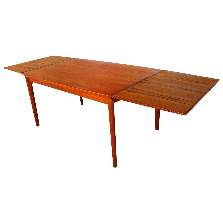 Danish Teak Extra Large Extendable Dining Table