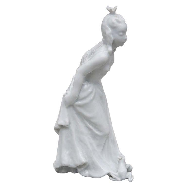 Princess and Frog Porcelain Figurine, Rosenthal, Germany