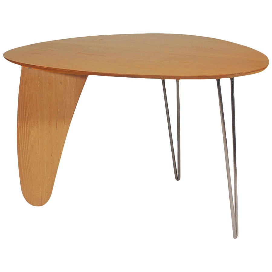 Mid-Century Modern Rutter Dining Table after Isamu Noguchi in Birch