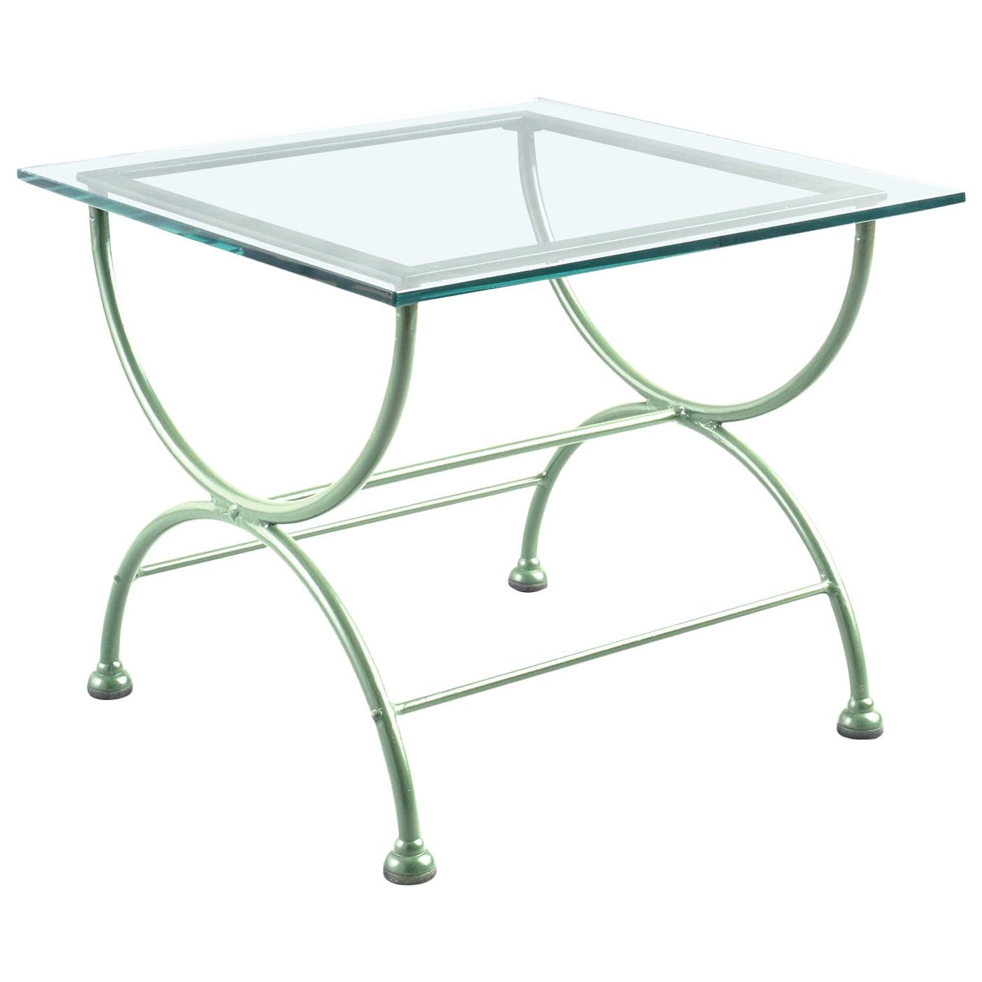 Rombo Light Green Low Table