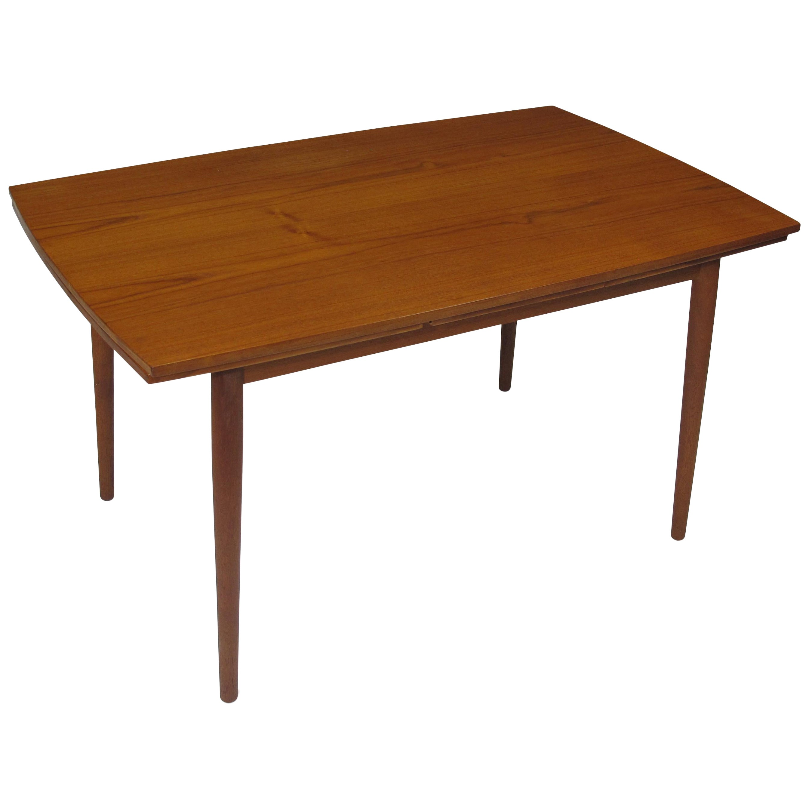 Danish Teak Draw Leaf Table