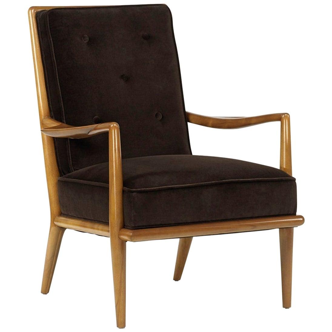 T.H. Robsjohn-Gibbings Arm Lounge Chair