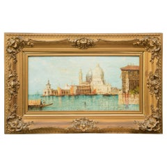 """""""Grand Canal of Venice"""" Oil on Canvas by British Artist William Meadows"""