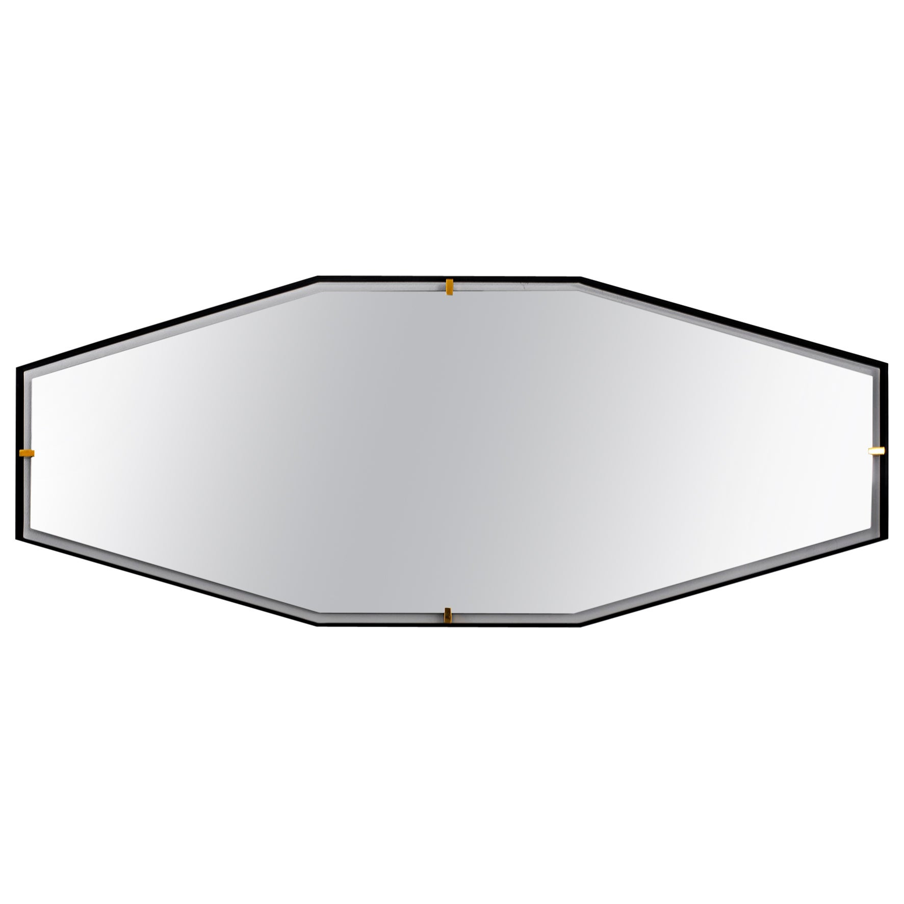 Trousdale Elongated Octagonal Floating Mirror