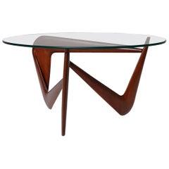 Sculptural Bertil Behrman coffee table, 1960s