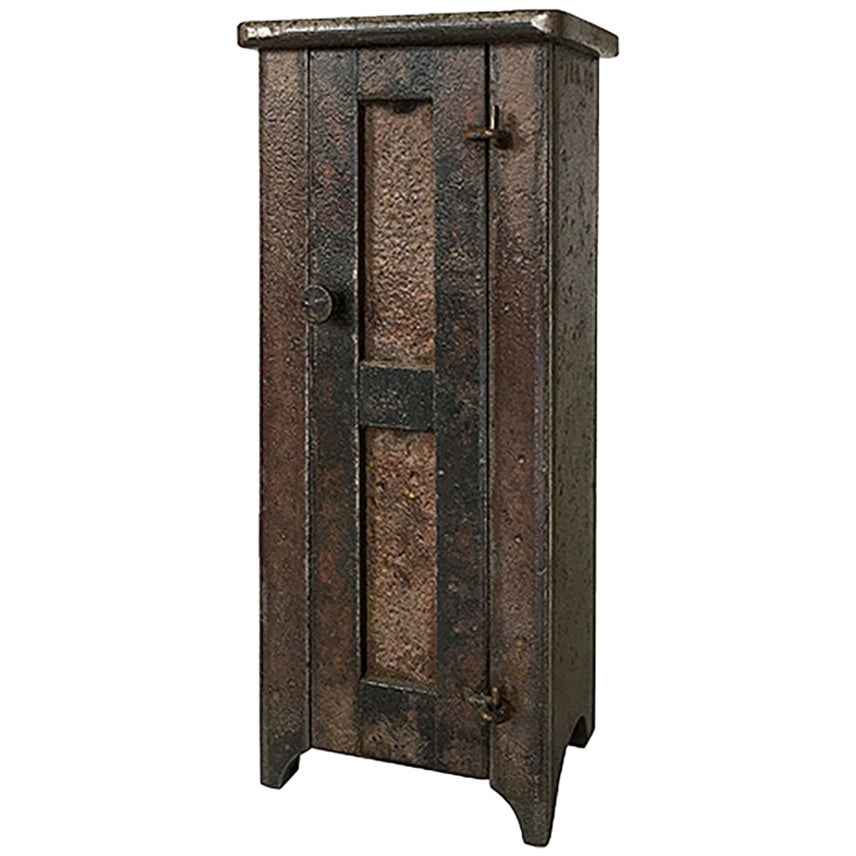 Jim Rose Legacy Collection - One Door Shaker Inspired Steel Cupboard-Maquette