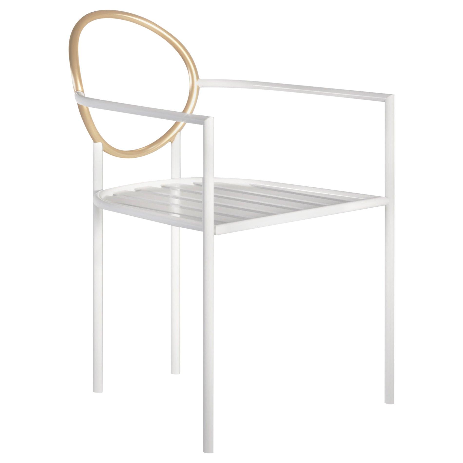 Halo Contemporary Outdoor Chair in Aluminium by Artefatto Design Studio