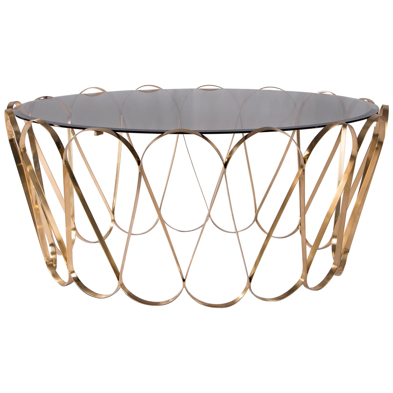 Waterflor Gold Coffee Table