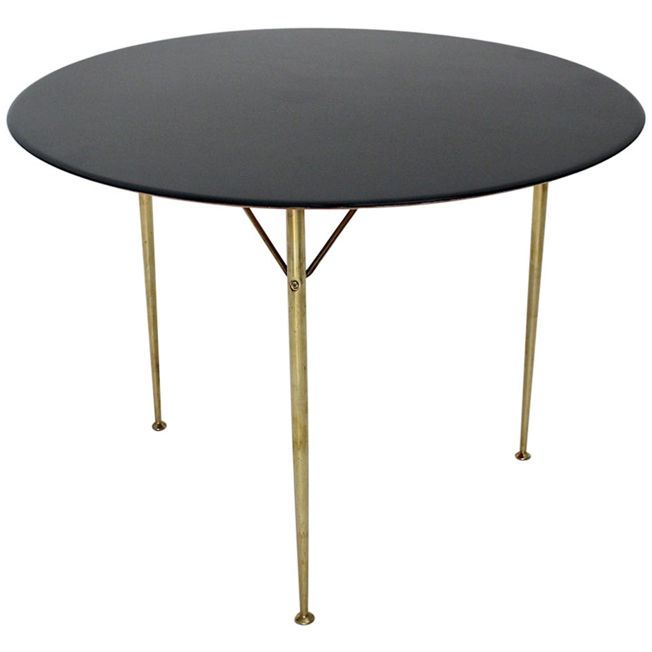 Scandinavian Modern Vintage Dining Table Arne Jacobsen for Fritz Hansen 1950s
