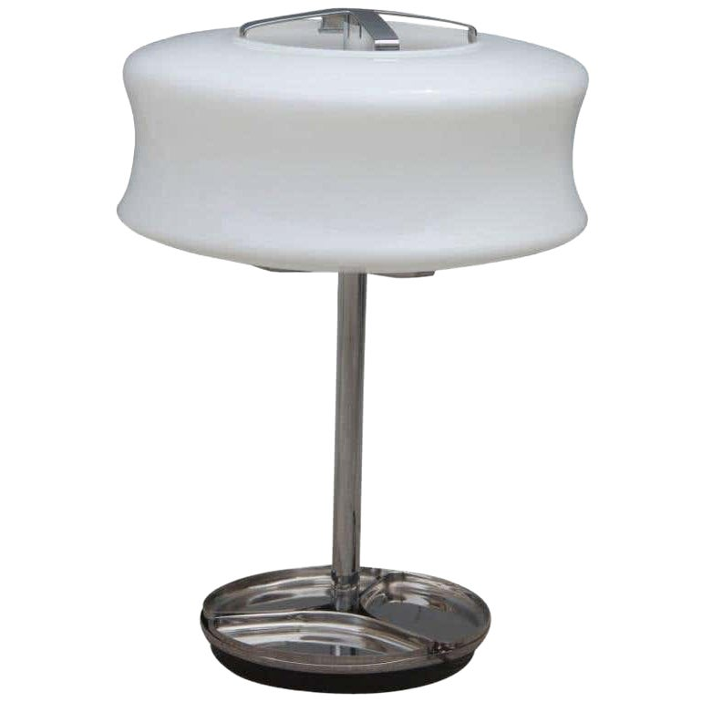 1970s Valenti Milano Murano Table Lamp