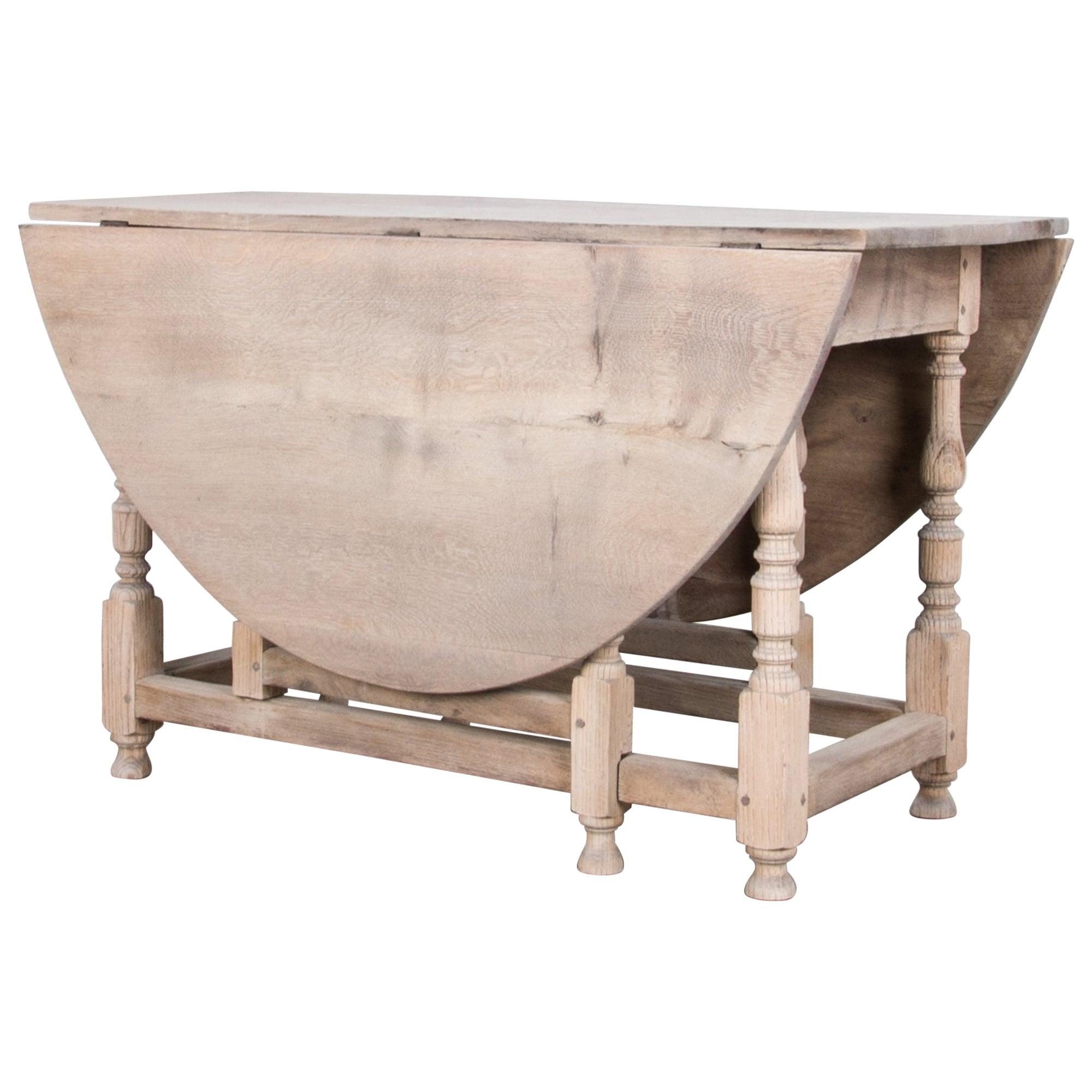 Antique British Gate Leg Table