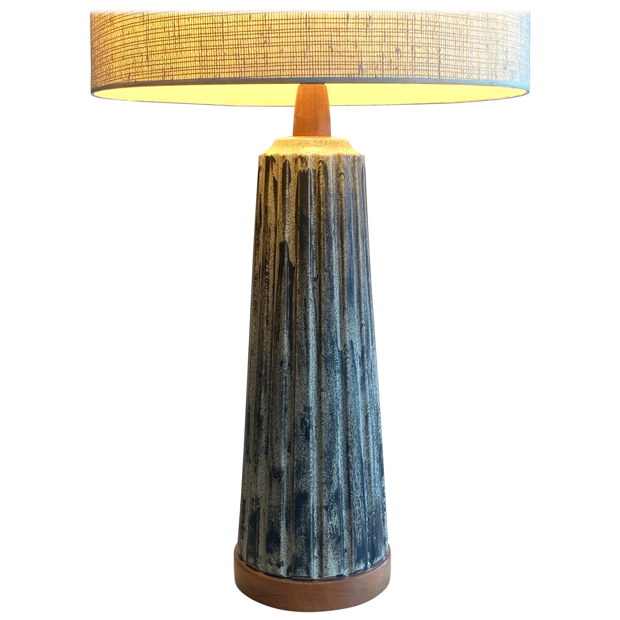 Unusual Martz Ceramic Lamp