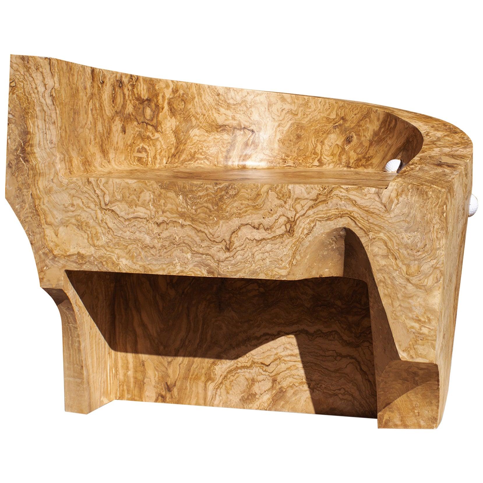 Minos Armchair by Woody Fidler