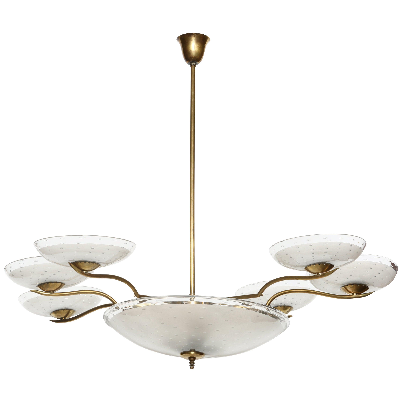 Italian Chandelier Art Deco Style