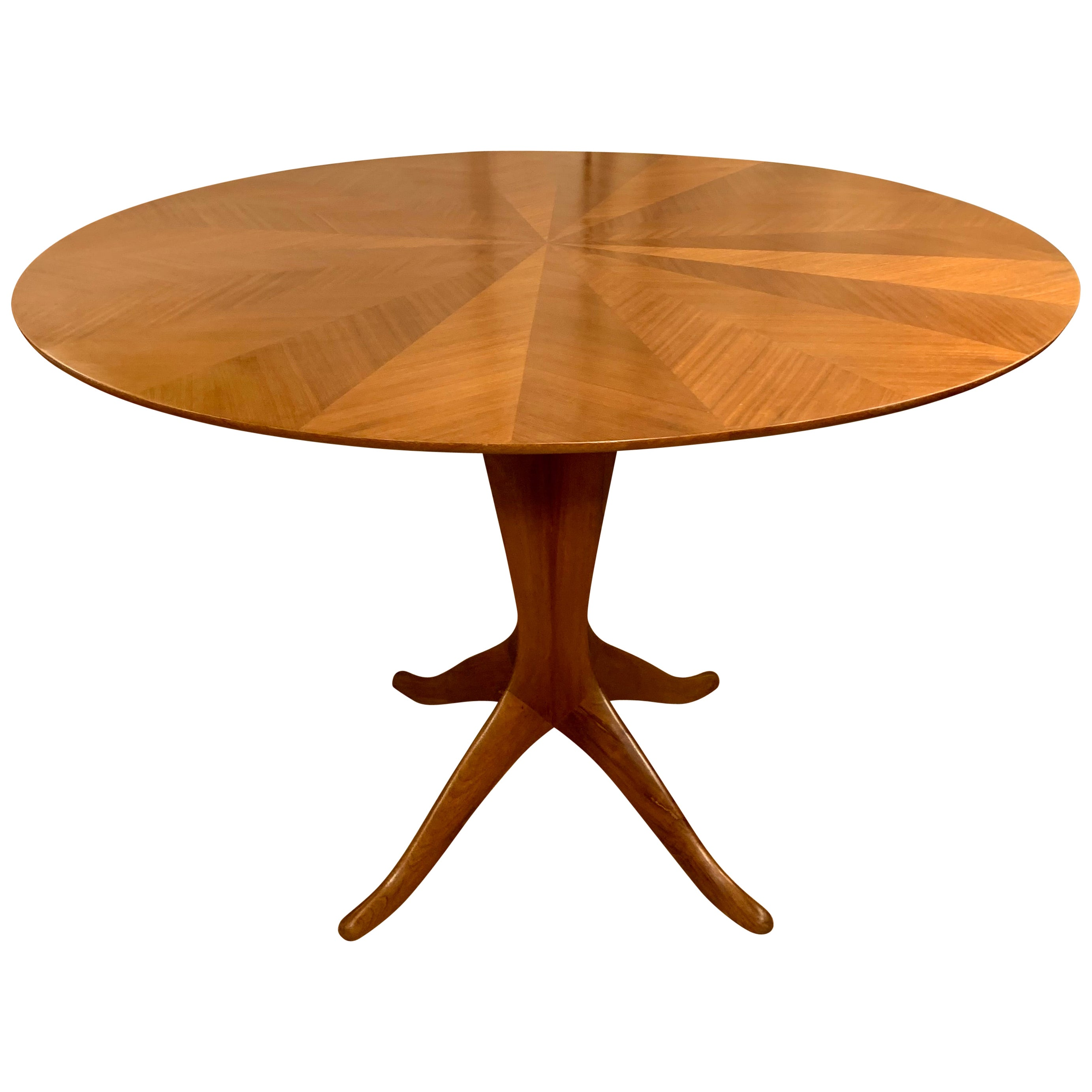 Midcentury Italian Round Dining or Center Table