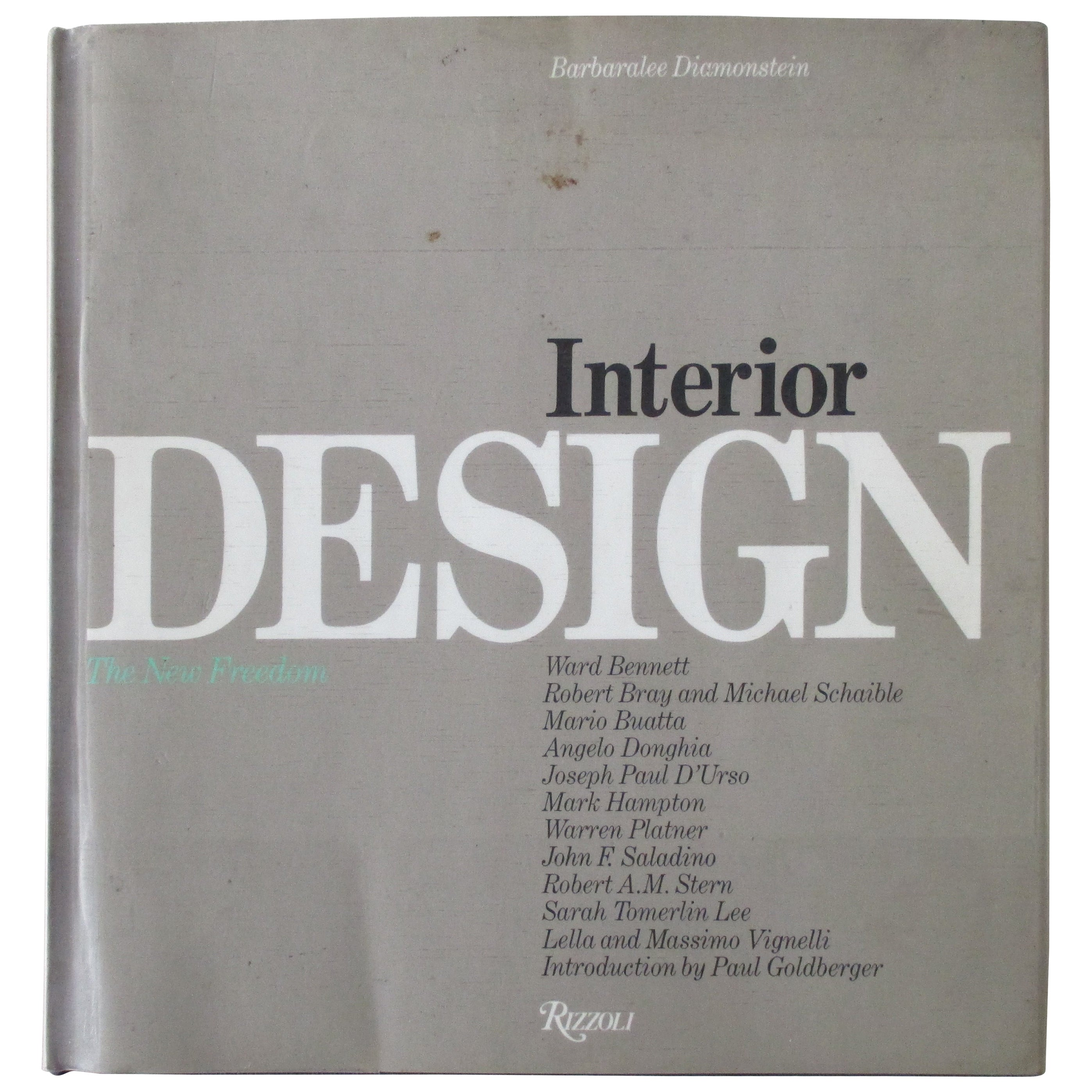 Interior Design Hardcover Book