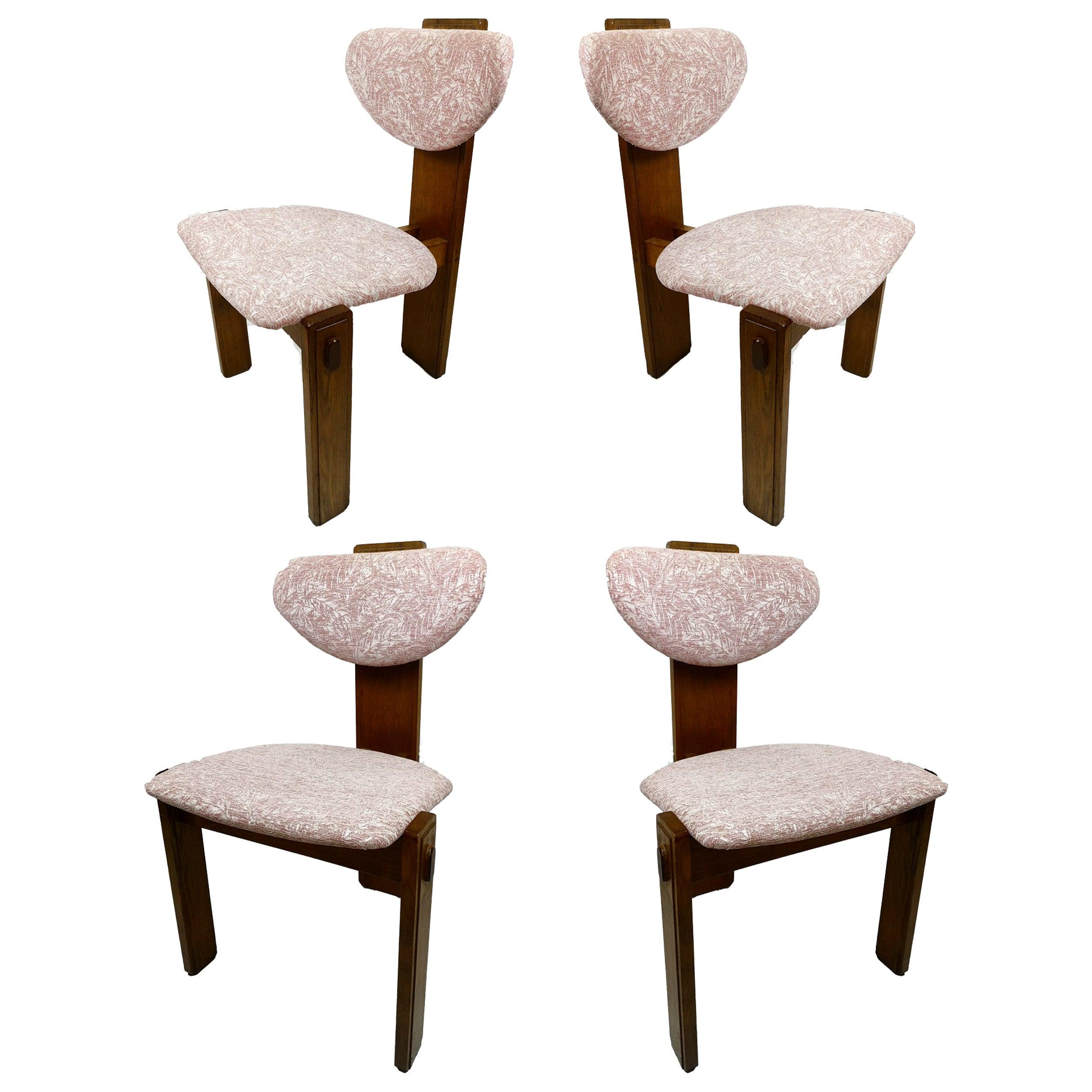 Set of Brutalist Midcentury Armchairs, 1950s