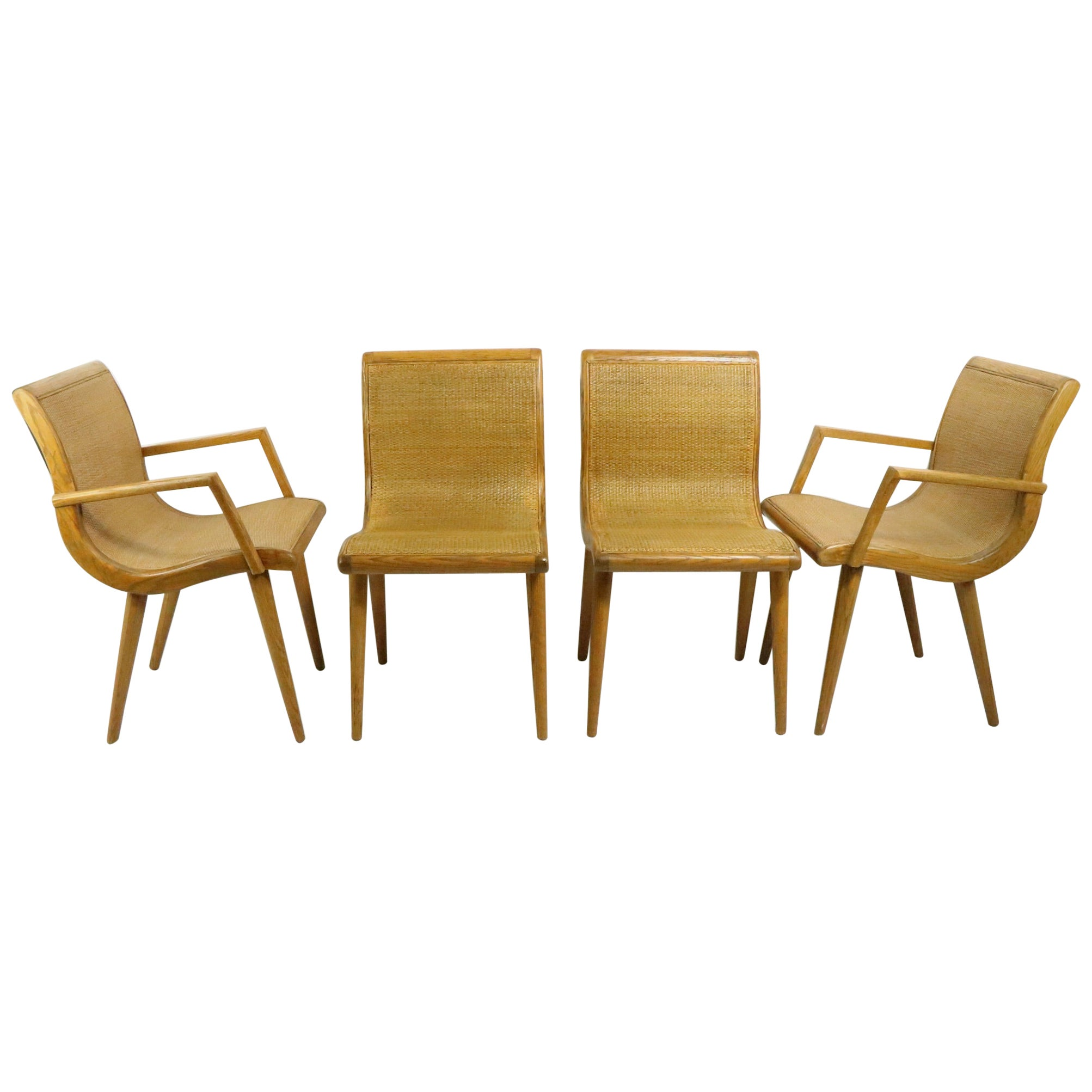 Set of Four Dining Chairs by Jack Van der Molen Americana Casual for Jamestown