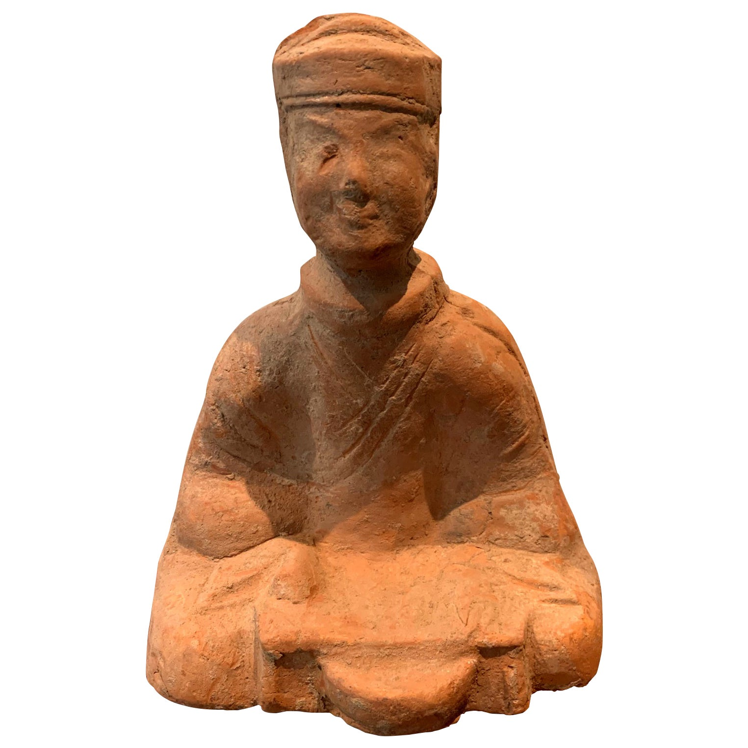 Chinese Terracotta Tomb Figure East Han Dynasty
