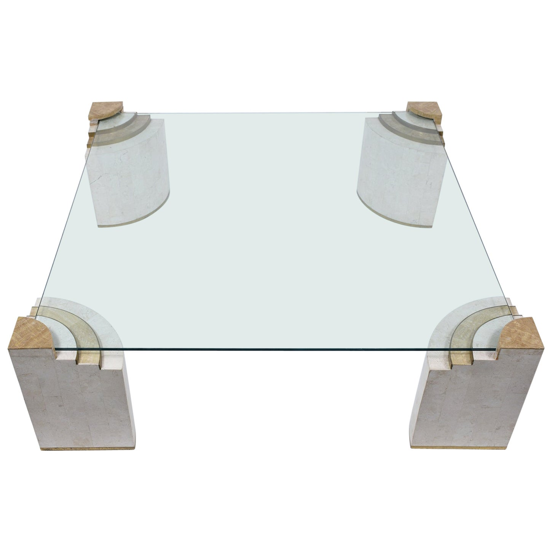 Tessellated Stone Coffee Table
