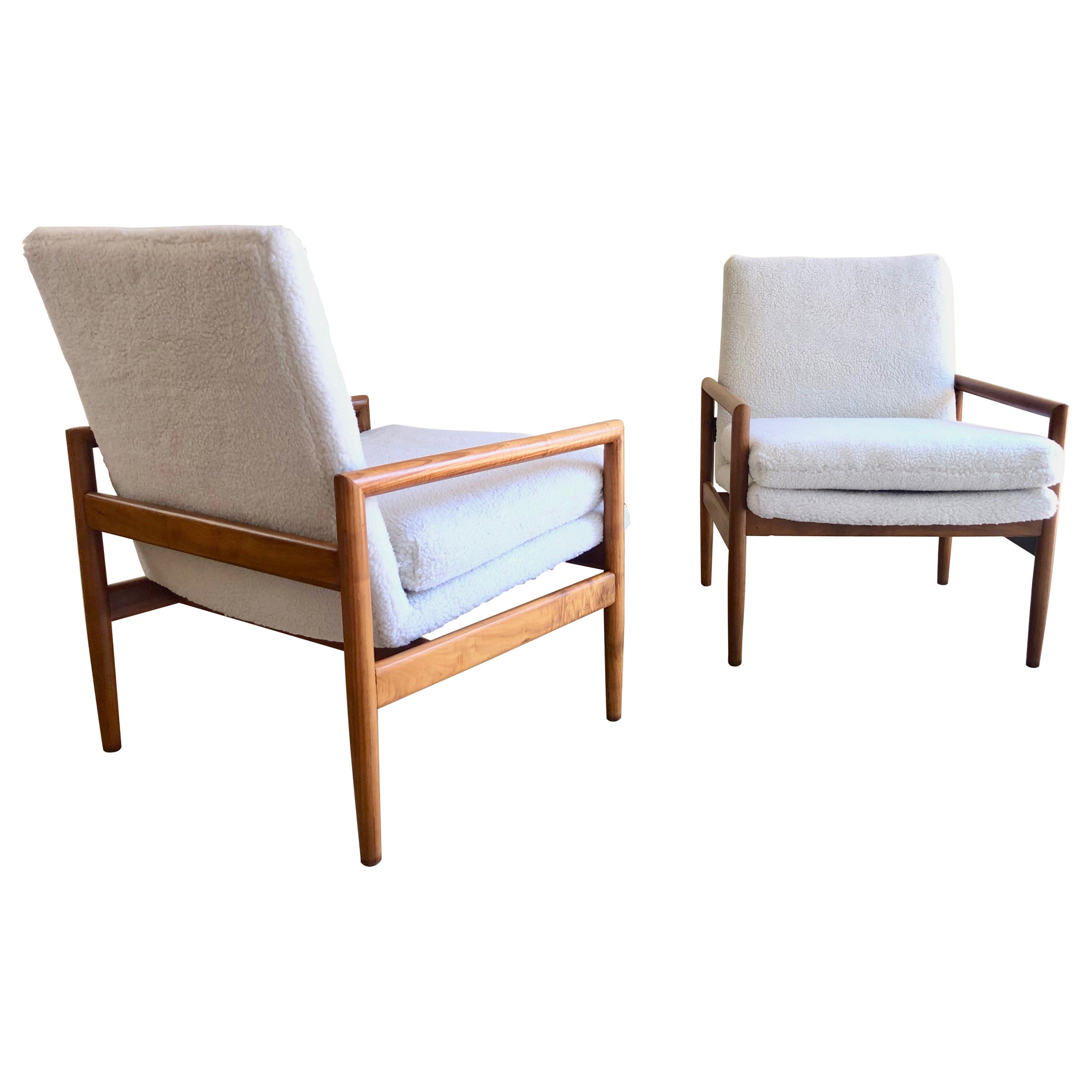 Milo Baughman for Thayer Coggin Lounge Chairs