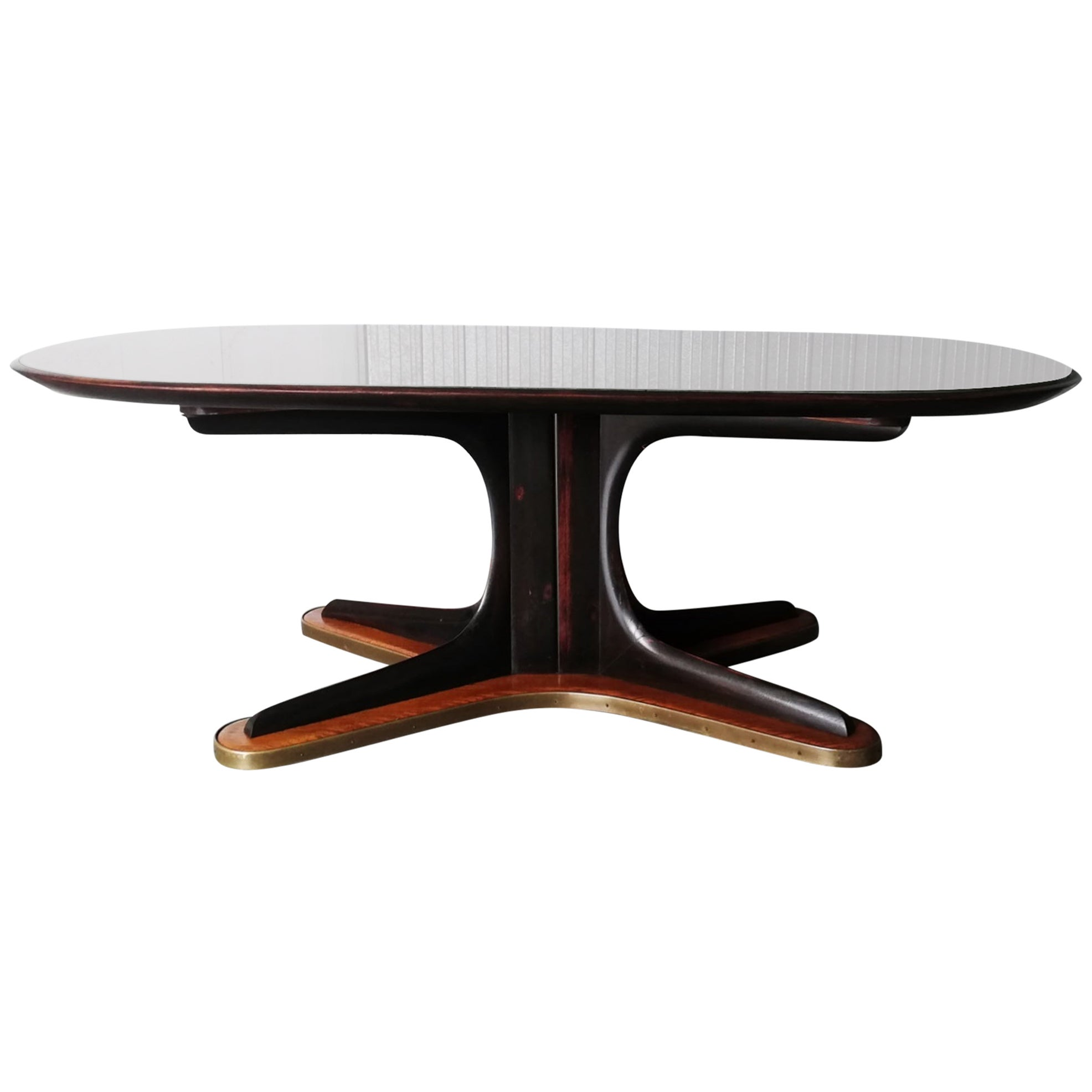Midcentury Sculptural Dining Table by Vittorio Dassi