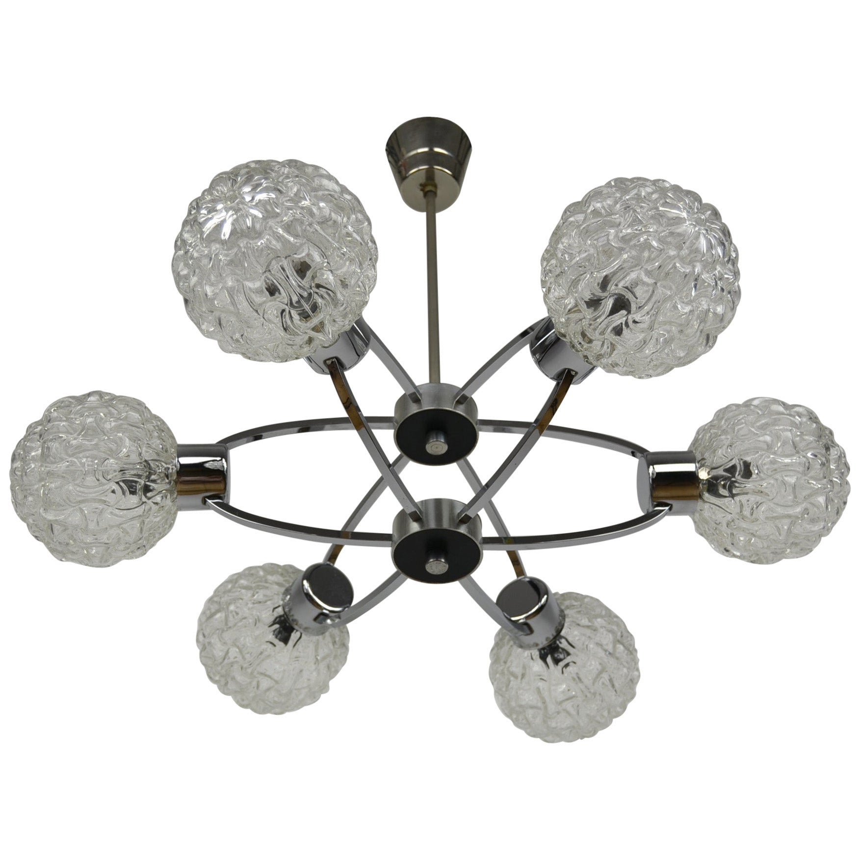 Space Age Atomic Chandelier, 1960s, Germany