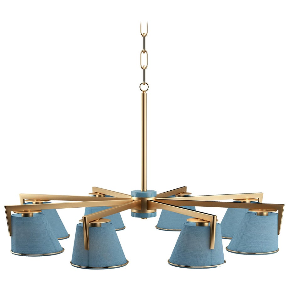 21st Century Santos Suspension Lamp Brass