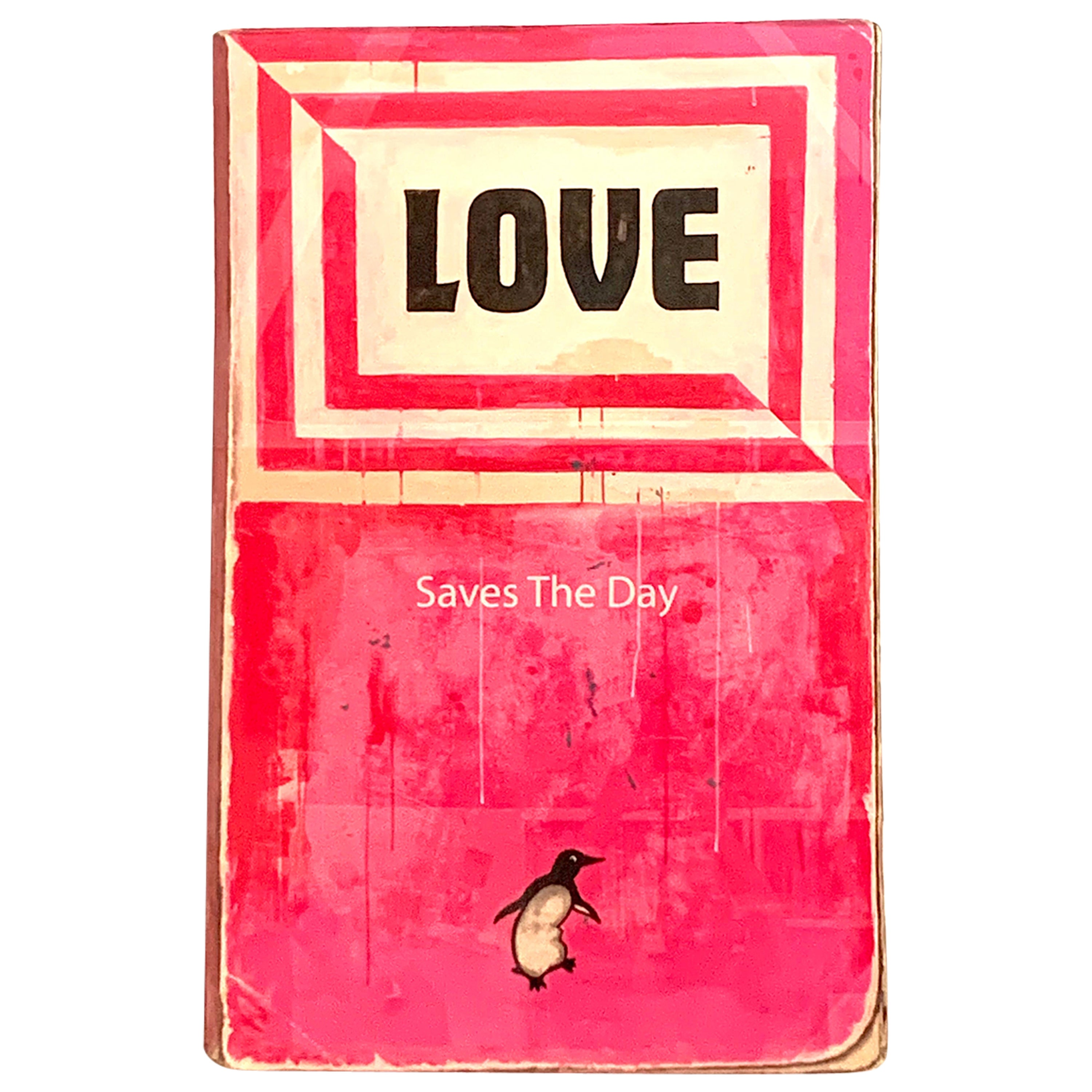"""""""Love Saves The Day"""" Harland Miller, 2014 15 Color Silkscreen Print"""