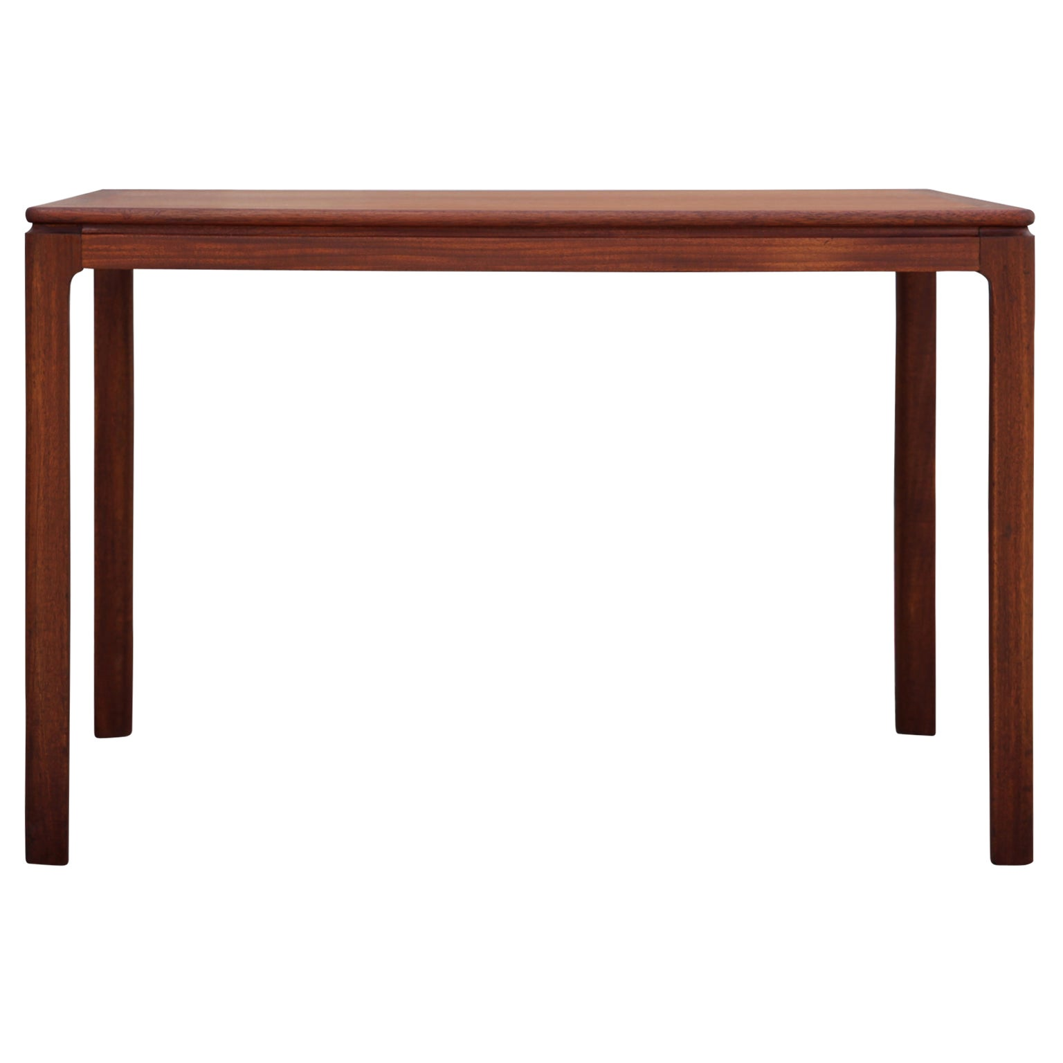 Danish Mid-Century Modern Teak Rectangular Side Table