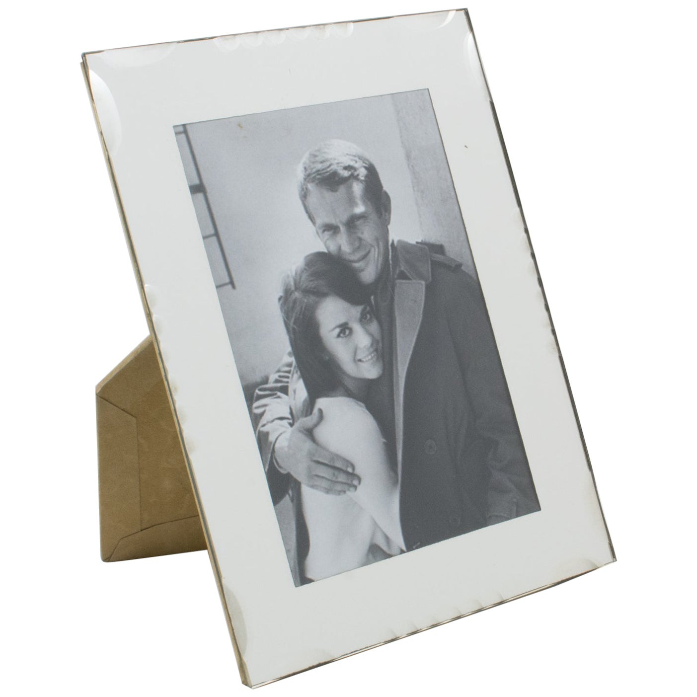 French 1950s Mirror Picture Frame