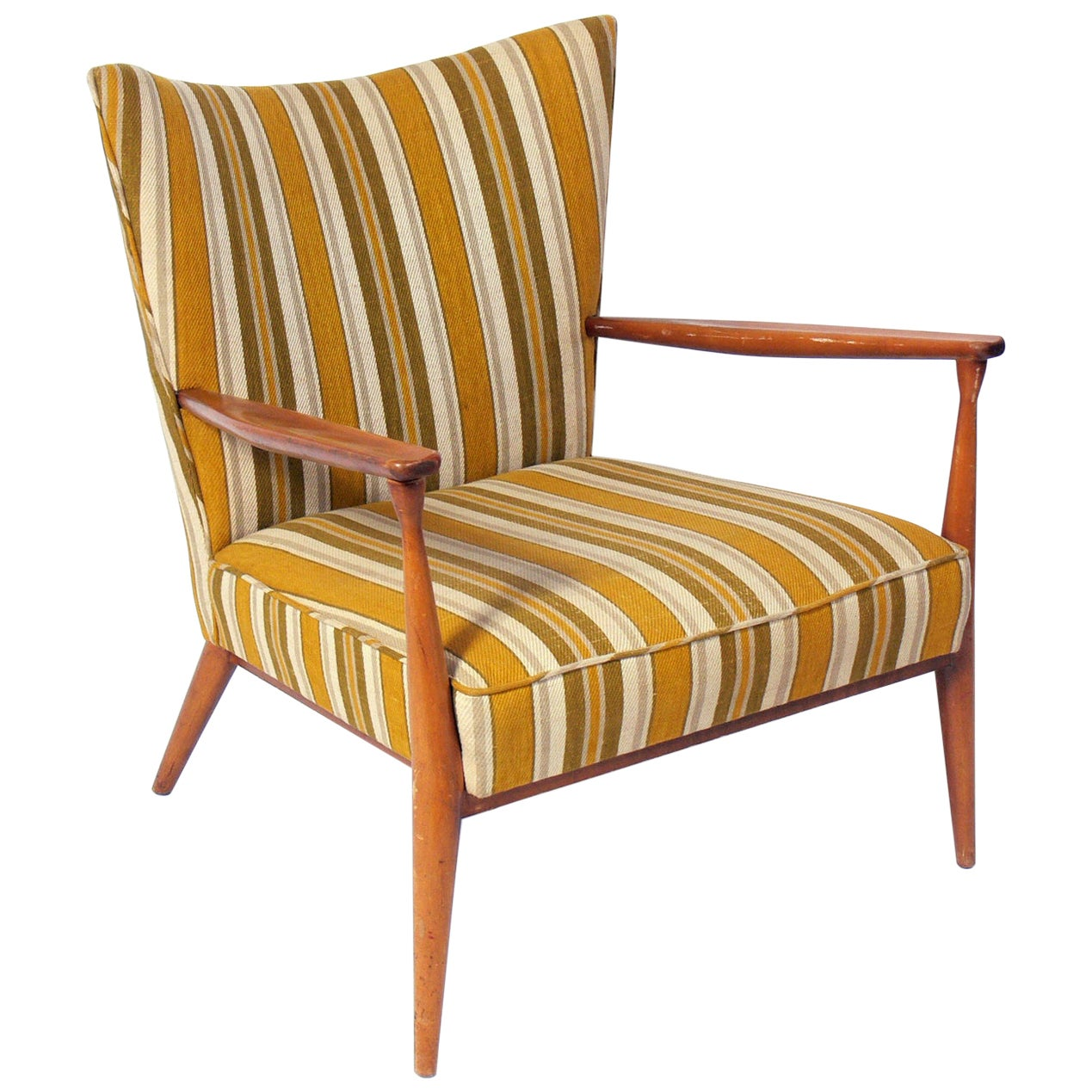 Curvaceous Paul McCobb Lounge Chair