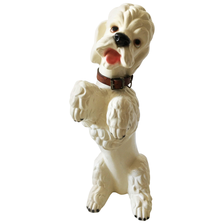 Mid-Century Modern Life-Size 'Poodle' Sculpture, Austria, 1950s