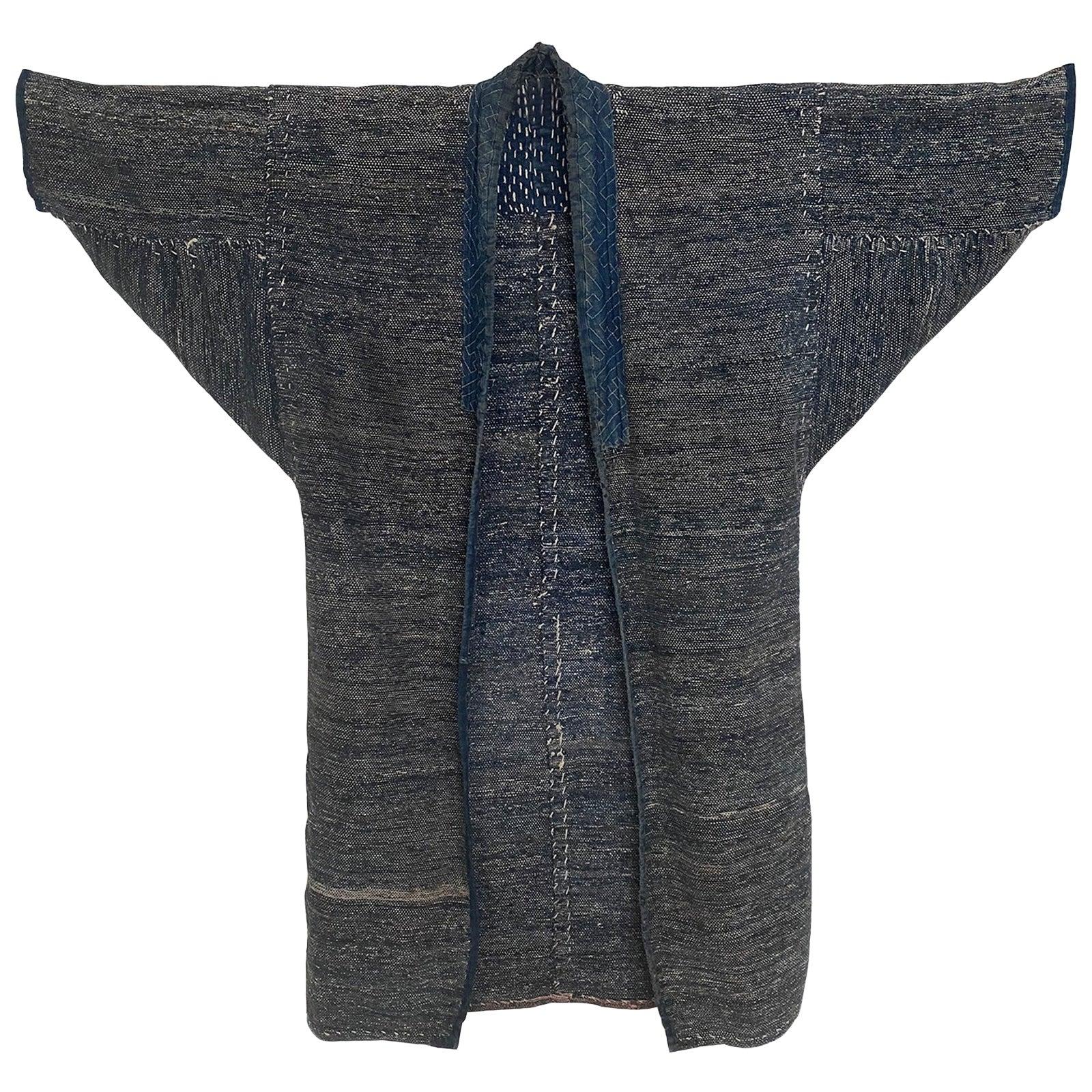 Saki-Ori Farmers Coat, Northern Japan, Meiji Period