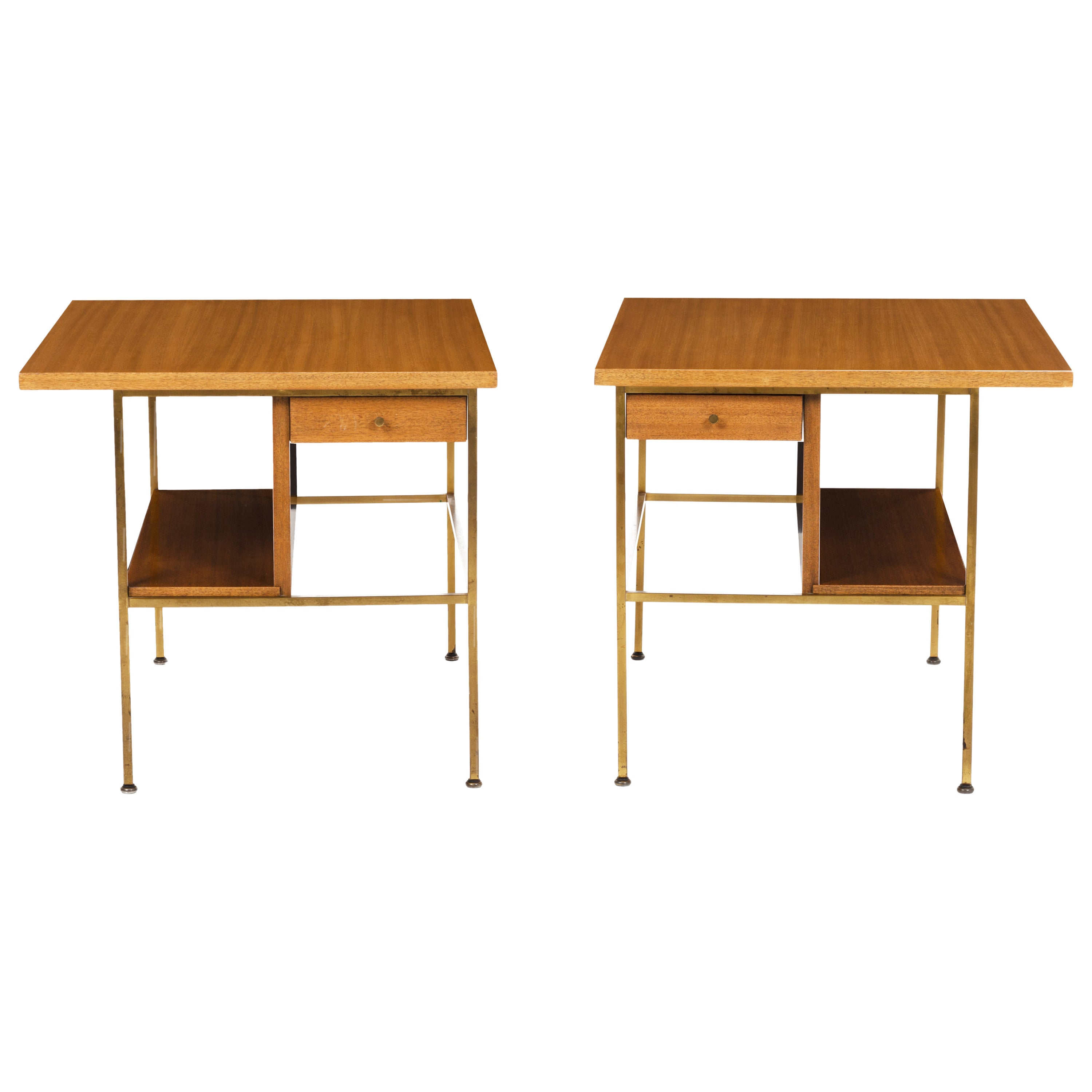 Pair of Paul McCobb End Tables or Nightstands