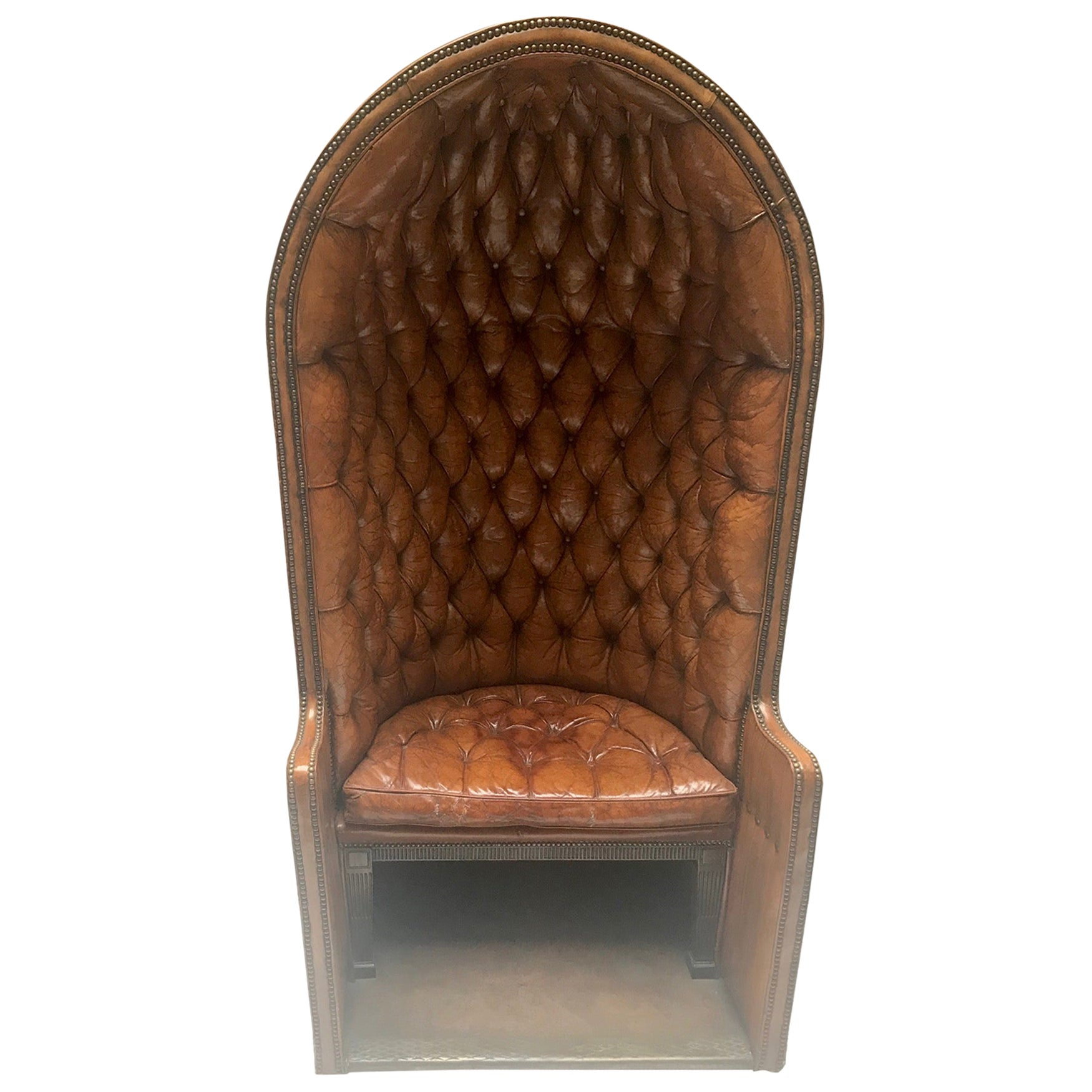 Porter's Chair Having Belonged to Claude François