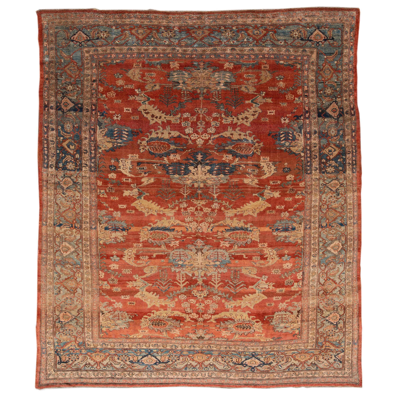 Vintage Persian Tribal Bakshaish Rug