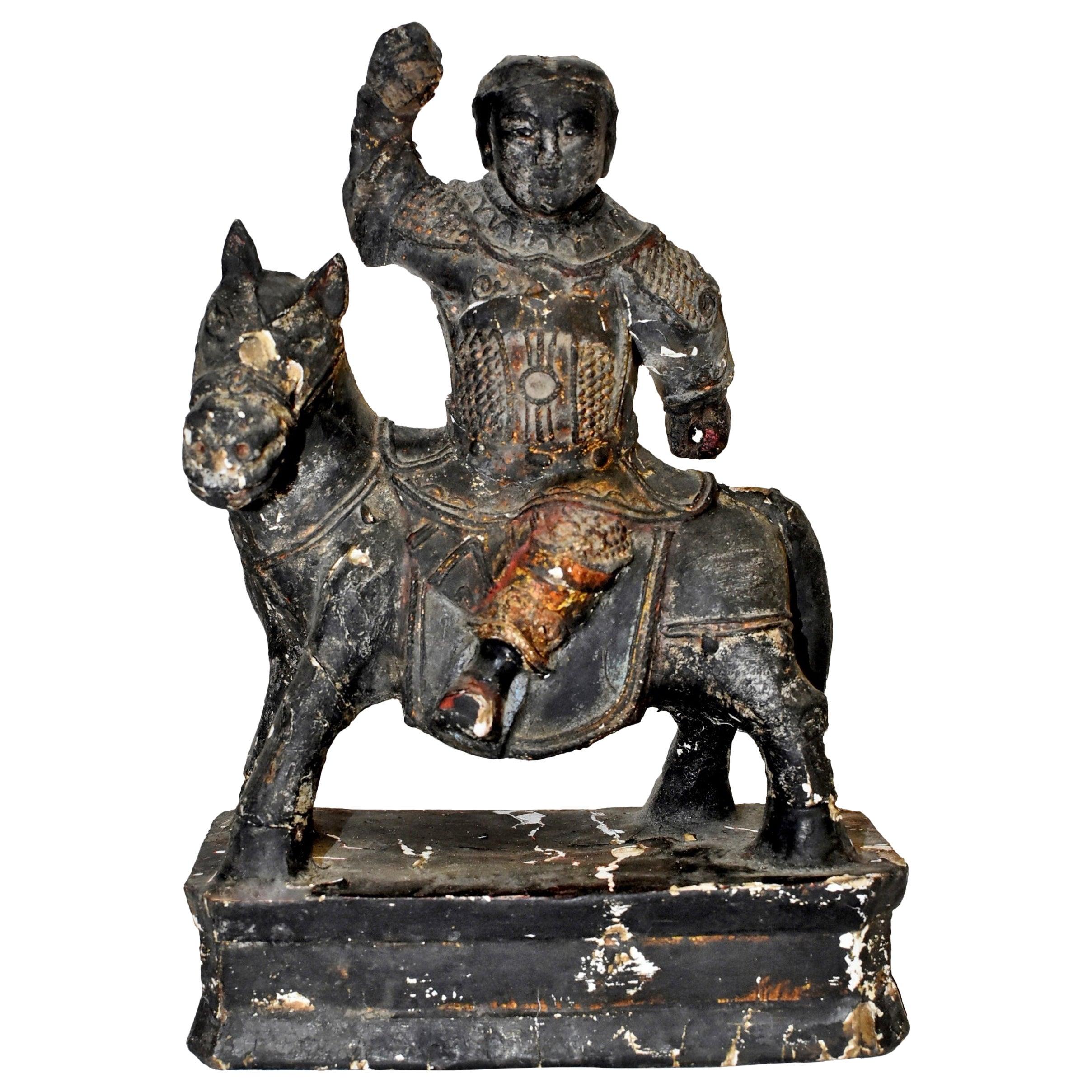 Ming Dynasty Warrior Statue