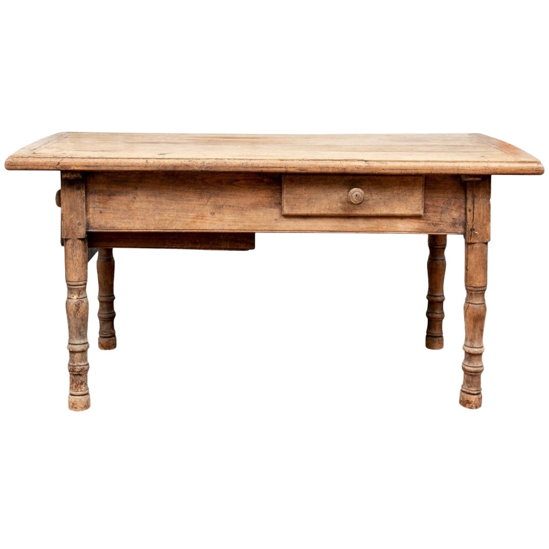 18th Century French Yew Wood Work Table