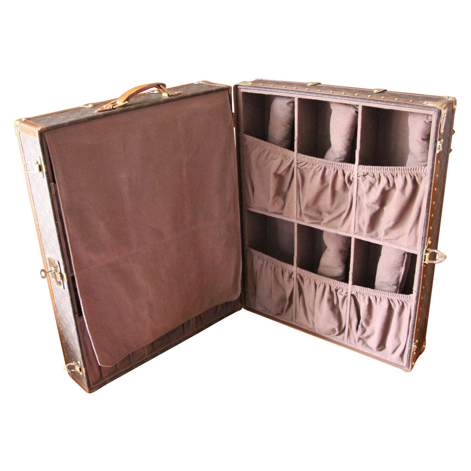 Louis Vuitton Monogramm Shoe Trunk, Louis Vuitton Shoe Case, Louis Vuitton Trunk