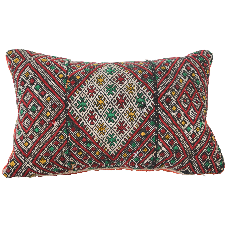 Moroccan African Tribal Throw Kilim Pillow