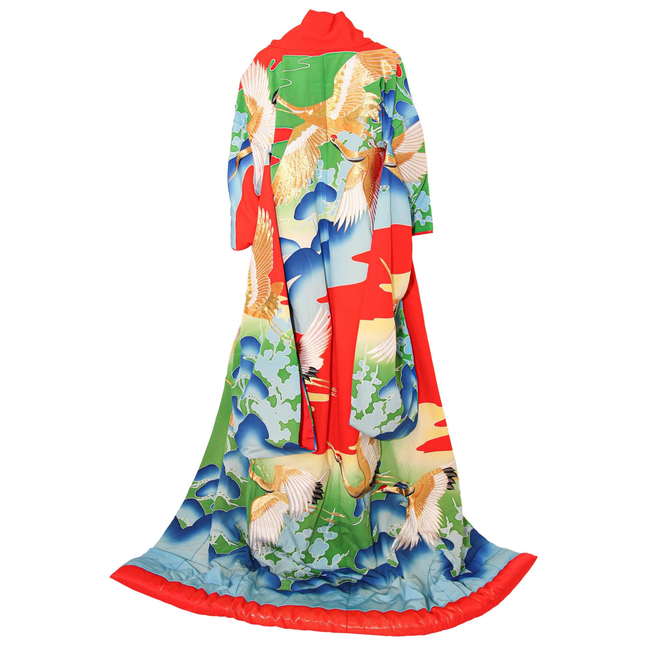 Vintage Collectable Japanese Ceremonial Kimono