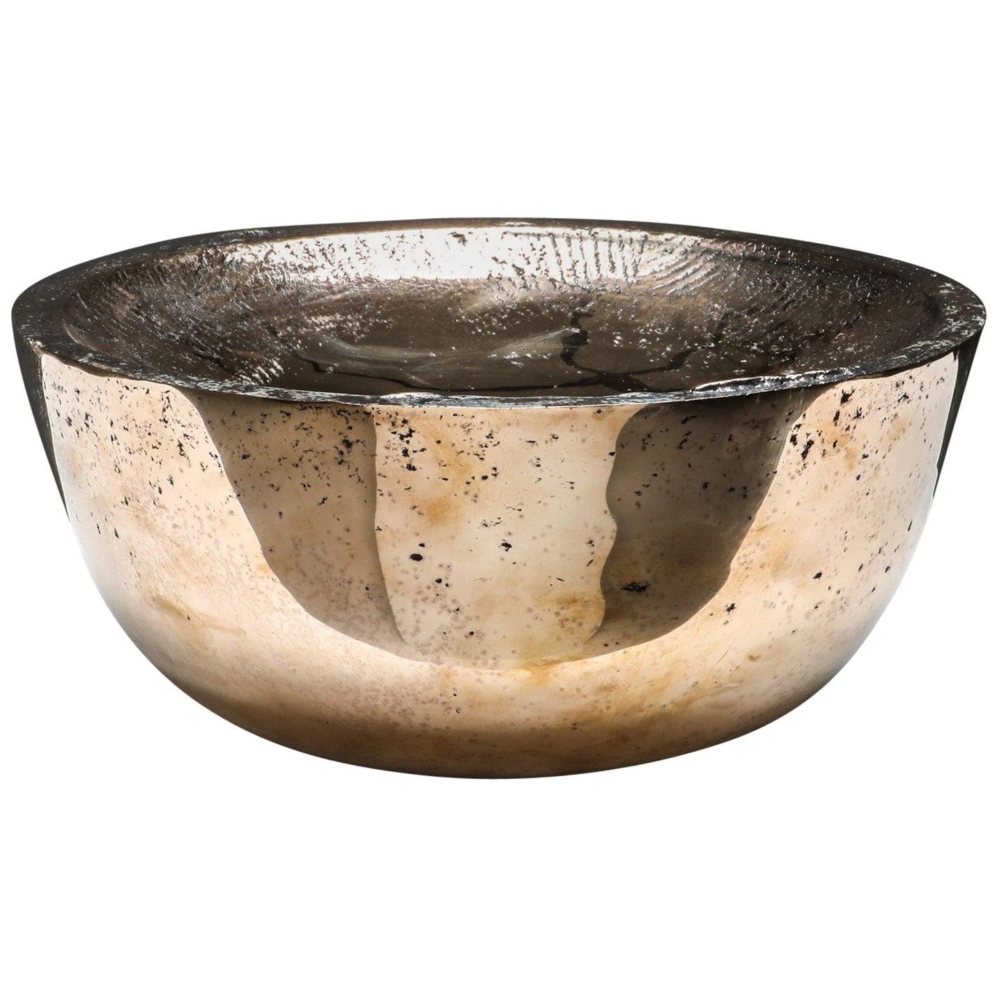 Brutalist Arno Declercq Bronze Bowl