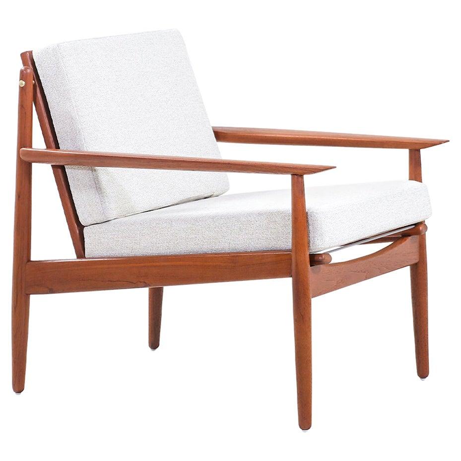 Svend Age Eriksen Teak Lounge Chair for Glostrup Møbelfabrik