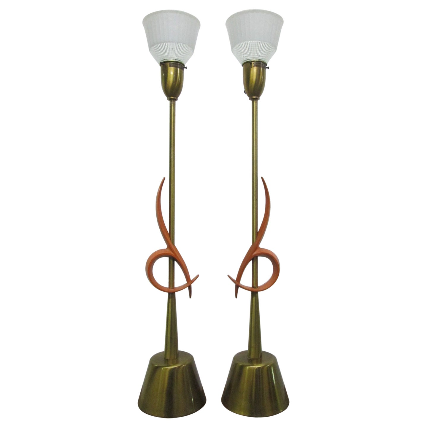 Pair of Large Rembrandt Table Lamps
