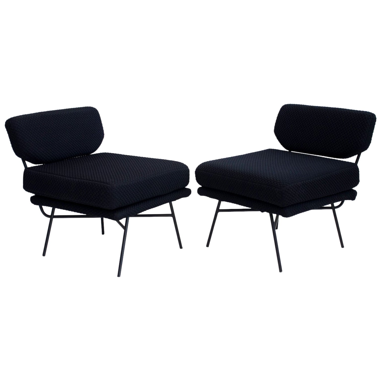 Pair of Elettra Lounge Chairs by Arflex