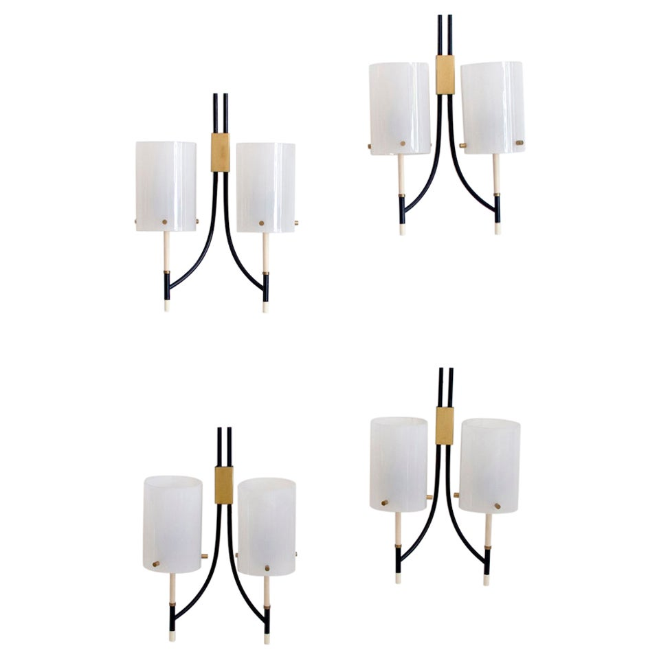 Wall Lamps Attributed to Casey Fantin